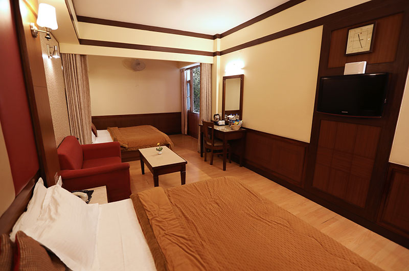 Superior 4 Bedded Room at Hotel Vishnu Palace