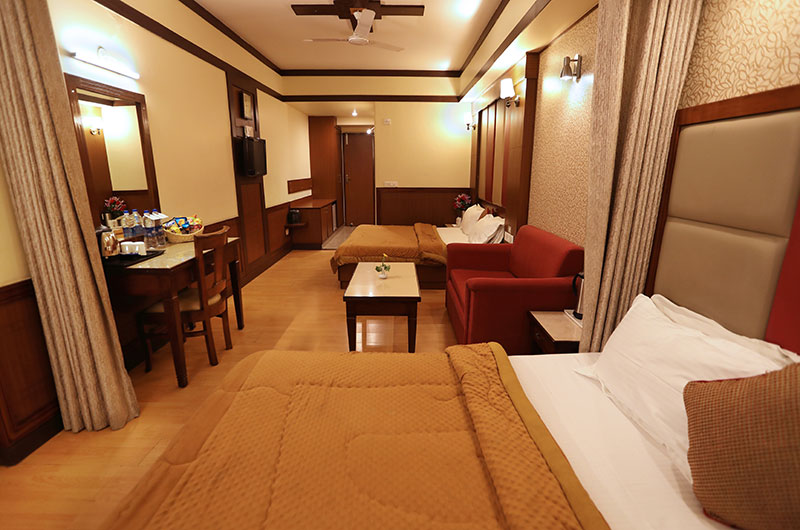 Hotel Vishnu Palace-Superior 4 Bedded Room View_1