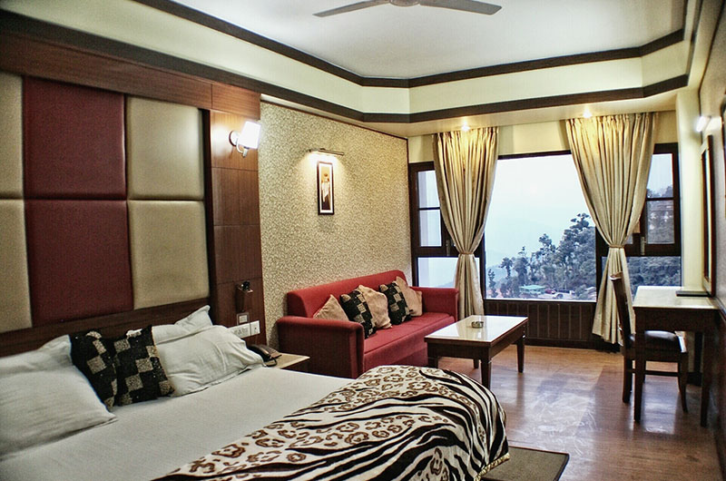Superior Himalayan View Room at Hotel Vishnu Palace
